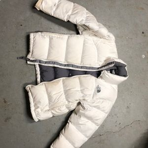 North Face goose down puffer